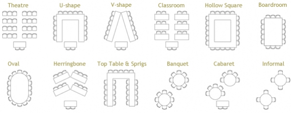 Modern Classroom Seating Arrangement ~ The woodmead halls corporate events